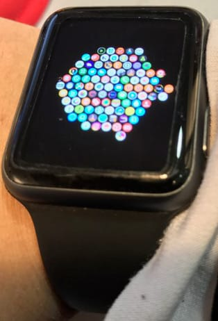 Petite icone apple watch