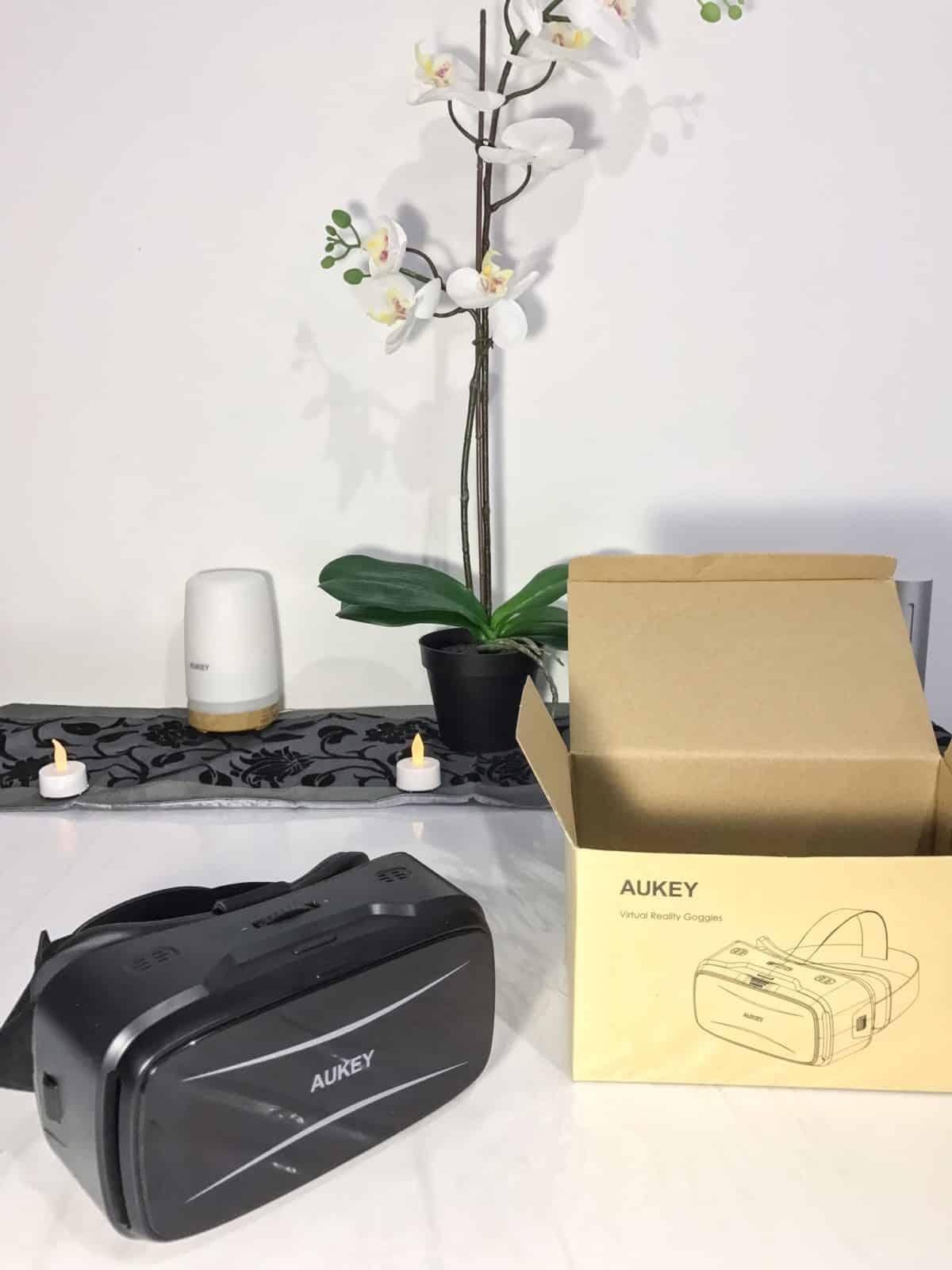 casque réalité virtuelle 360 aukey