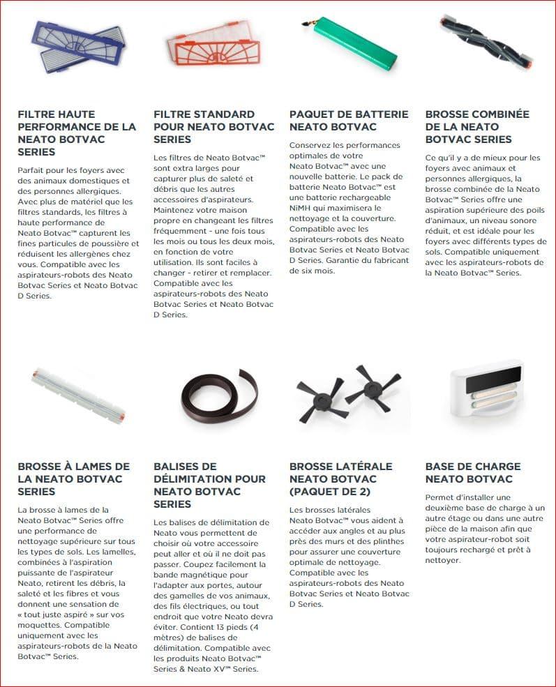 accessoires botvac robotics