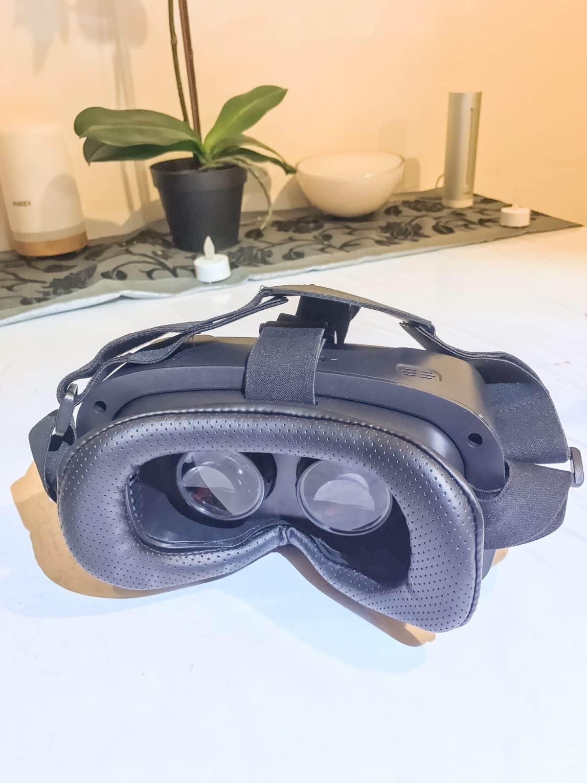 lentilles casque réalité virtuelle