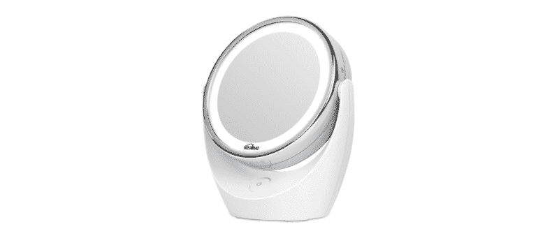 miroir double face grossissant led kealive