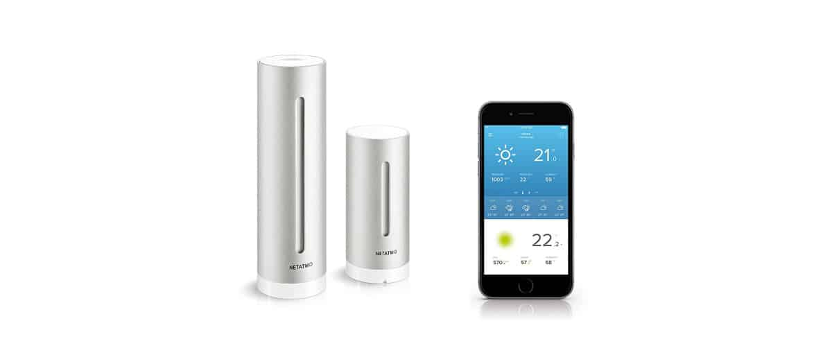 netatmo station meteo connect smartphone tablette avis. Black Bedroom Furniture Sets. Home Design Ideas