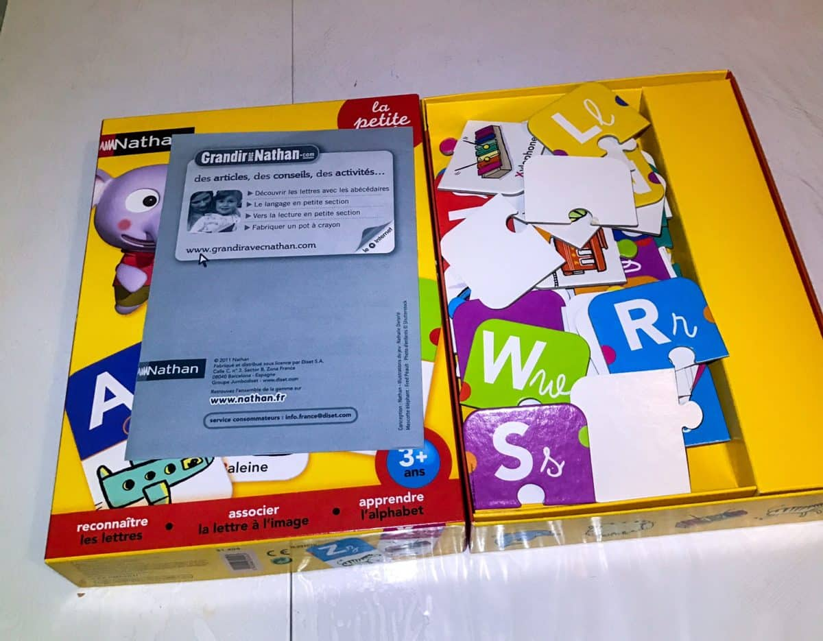 jeu apprendre alphabet montessori