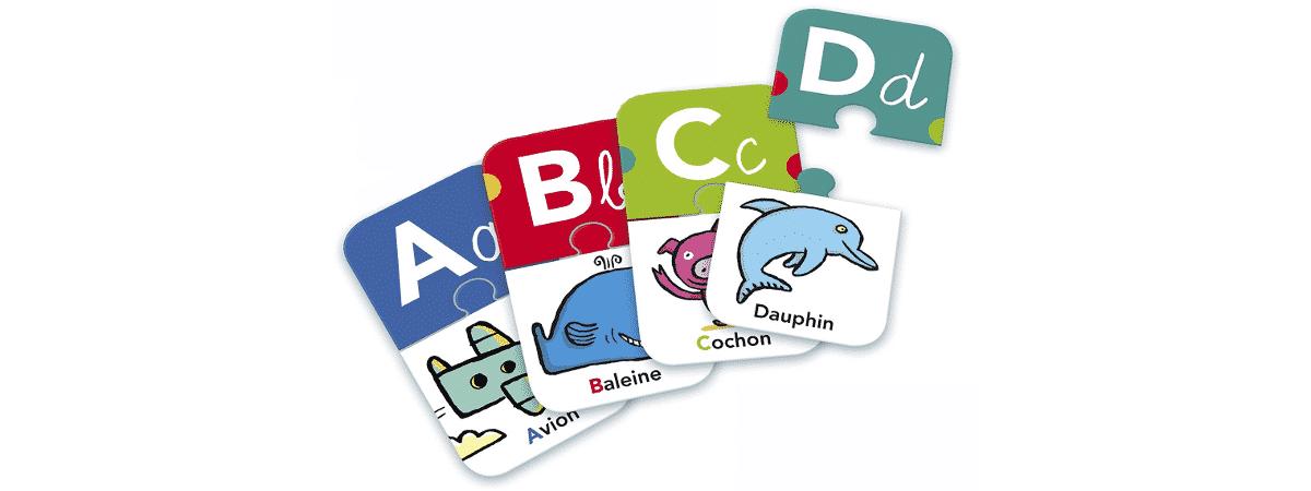 jeu carte lettres alphabet montessori