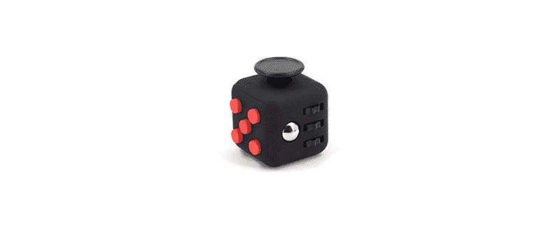 logo fidget cube