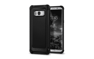 coque de protection spigen rugged armor extra pour s8+