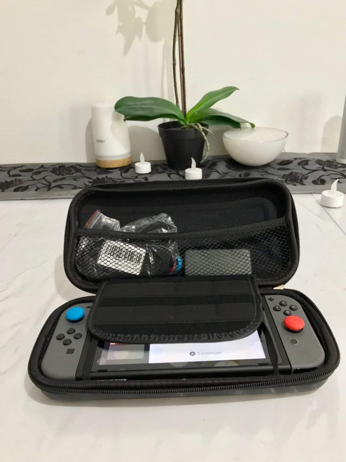 kit accessoires nintendo switch