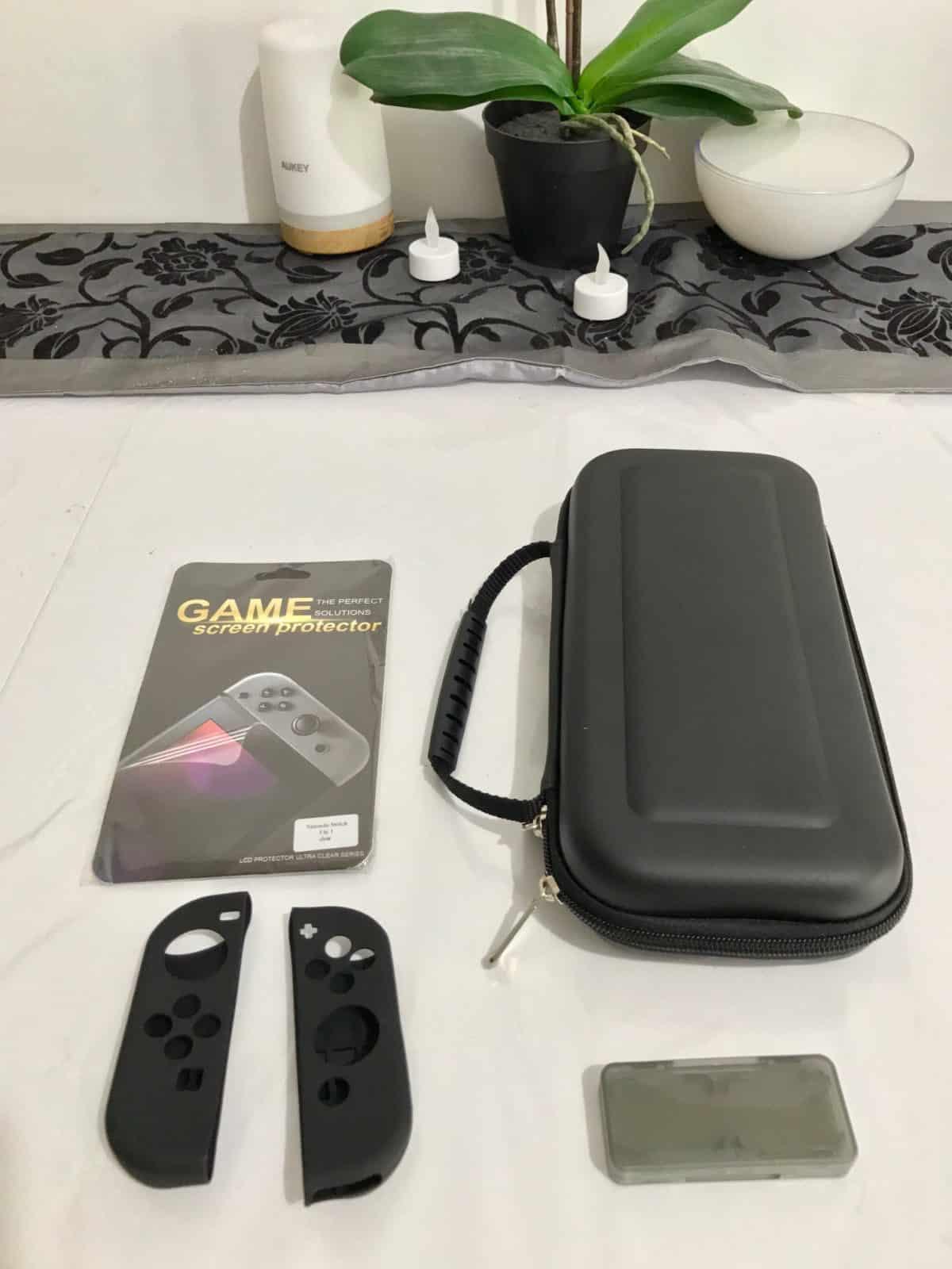 unboxing accessoires pour la switch