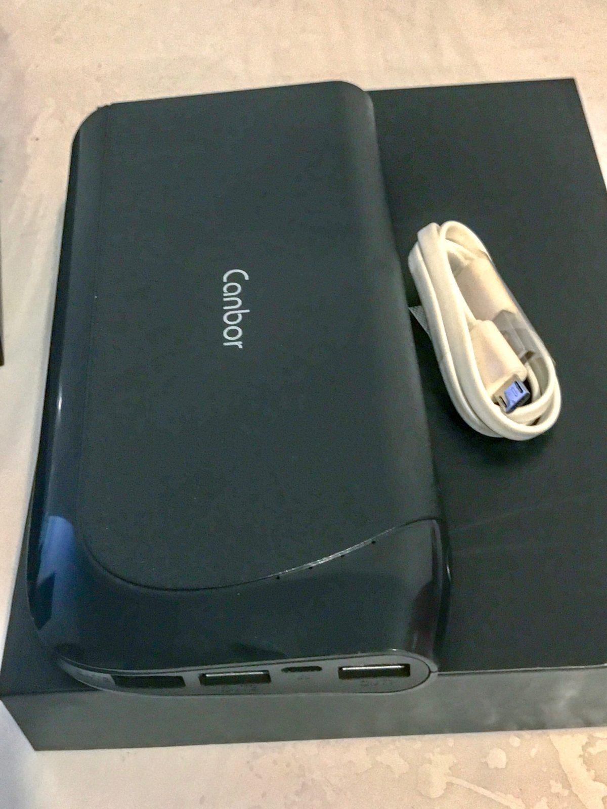 coffret batterie externe avec micro usb