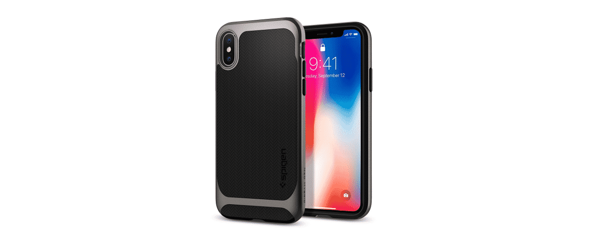 top coque protection spigen iphone X