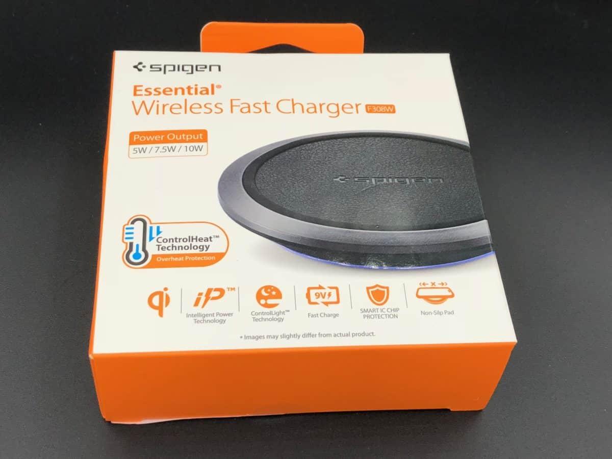 boite chargeurs induction spigen