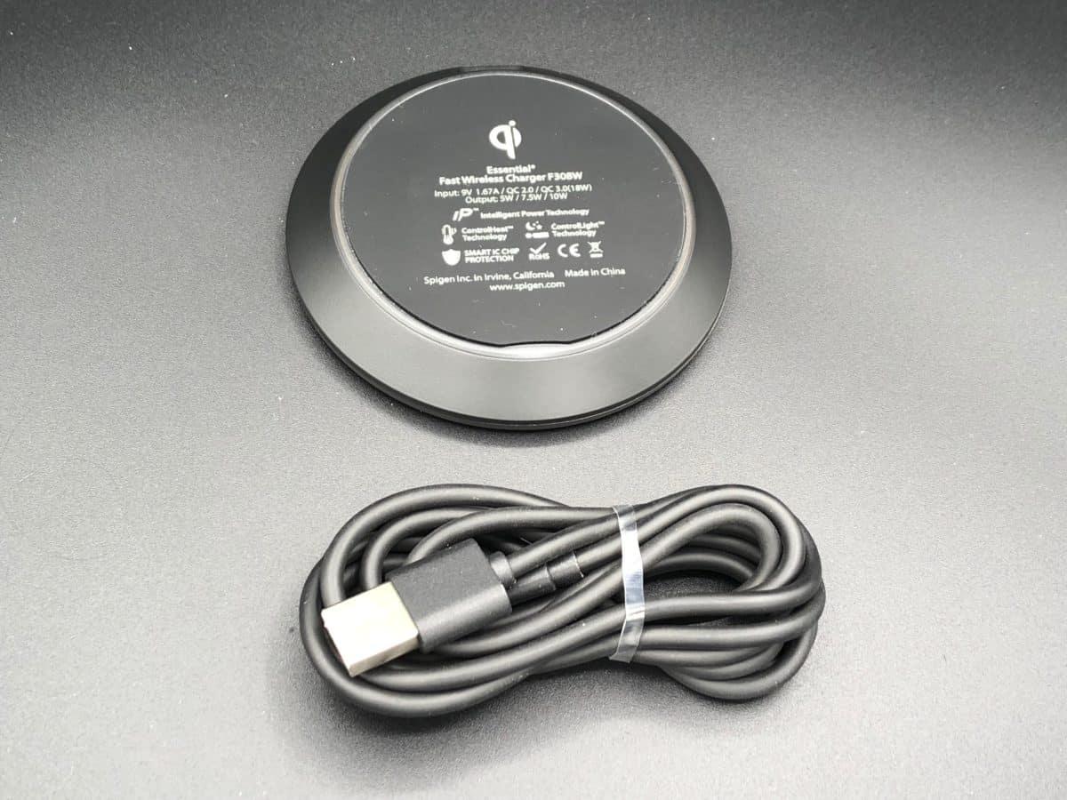 unbox arrière chargeur induction F308W