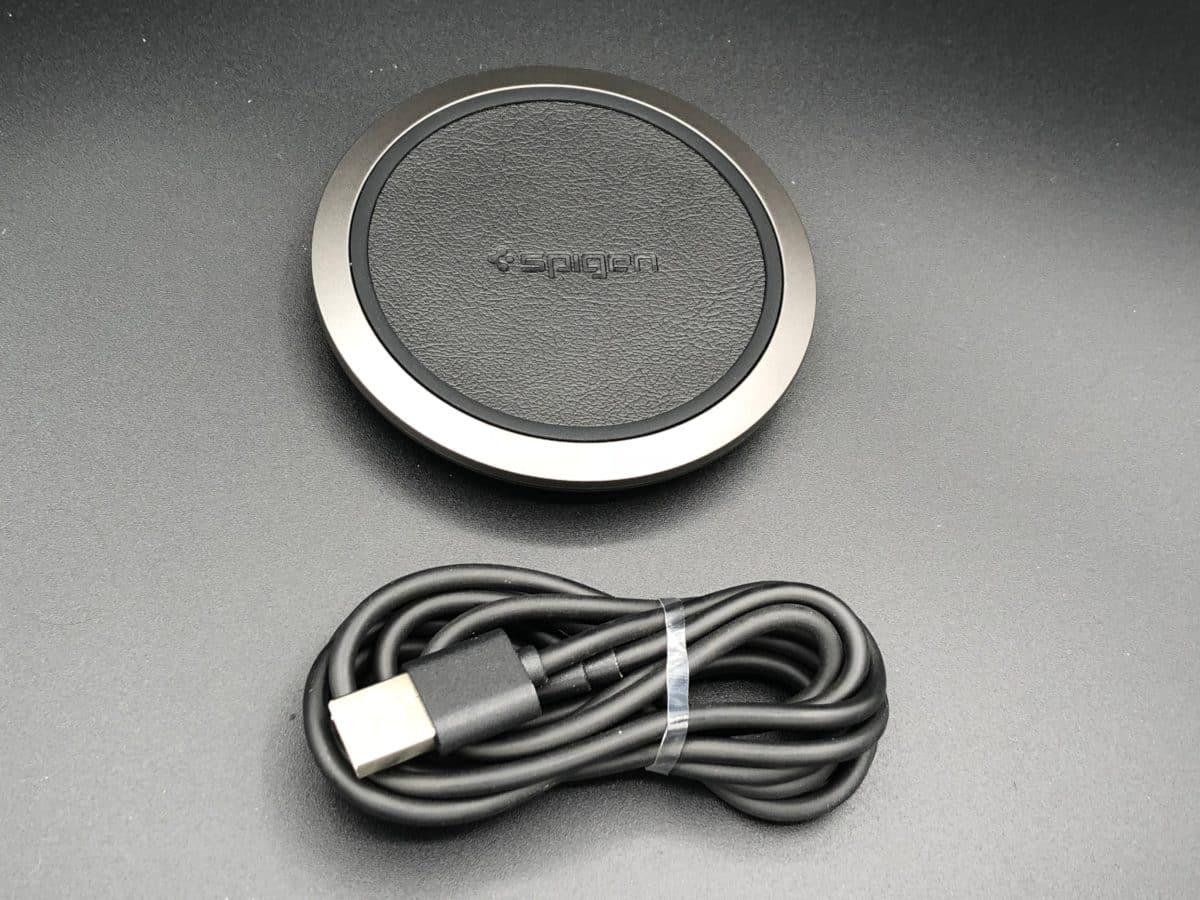Unbox chargeur sans fil spigen F308W